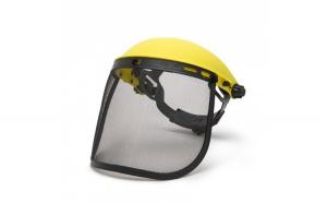 Ecran de protectie faciala cu plasa de