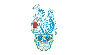 Sticker decorativ, Skull, 90 cm, 219STK-9
