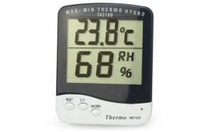 Ceas de camera cu termometru digital cu higrometru TA-218 D
