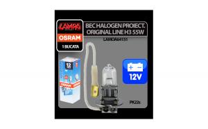 Bec halogen 12V - H3 - 55W Original Line
