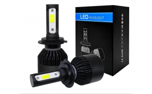 H7 Led s2 black edition 50w 8000 lm 6500k