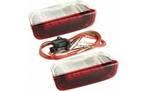 Lampi LED portiere fata Skoda Superb