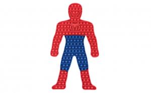 Jucarie interactiva POP IT Spiderman