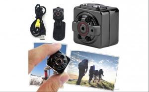 Mini camera foto-video FULL HD SQ8 cu senzor miscare, la doar 129 RON in loc de 259 RON!