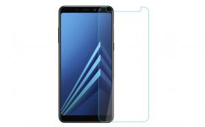 Folie sticla securizata Samsung Galaxy A8 Plus 2018/A7 2018, transparenta