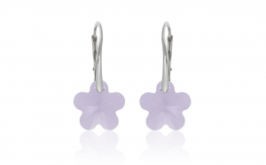 Cercei Flower Lever Mini Violet