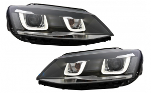 Set 2 faruri 3D LED compatibil cu VW Jet