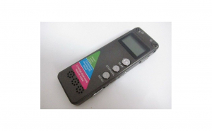 Reportofon digital 8GB, cu ecran LCD