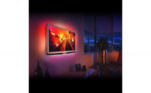 """Benzi LED pentru iluminare fundal TV, cu telecomandă 24-38"""""""