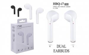 Casti i7 TWS, True Wireless, Bluetooth, incarcator incorporat