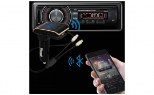 Modulator Bluetooth FM Q10 Car Kit Hands