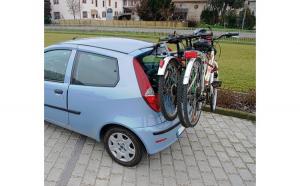 Suport biciclete cu prindere pe haion