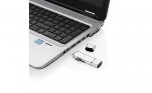 Cititorul de carduri SD universal 3 in 1: type C, USB 2.0 si micro USB