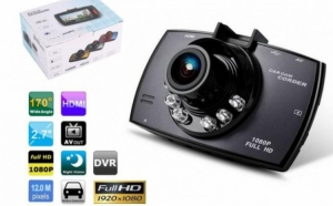 Camera video auto, 12 megapixeli FullHD, cu nightvision, doar 279 RON in loc de 598 RON. Vezi video