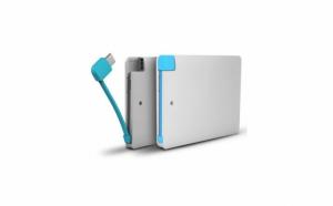 Baterie externa 2600 mAh ultra subtire, pentru Android