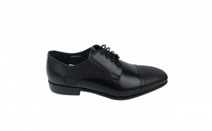 Pantofi eleganti din piele naturala pentru barbati, Swbsa, S826-21, Negru