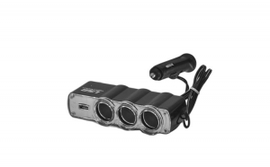 Priza bricheta tripla cu USB RoGroup, 12/24V