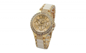 Ceas de dama Geneva Luxury Auriu