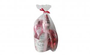 Set cadou cu 4 produse aroma trandafir ,
