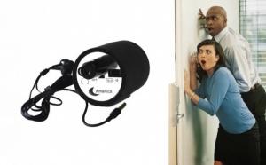 Microfon cu casti pentru ascultare prin perete, la 79 RON in loc de 199 RON. Vezi video