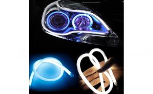 Banda flexibila LED DRL lumina alba 85cm BO85W - 12V