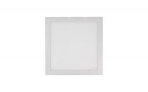 Spot LED 24W aplicat patrat - Lumina Rece