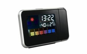 Ceas cu proiectie ora si temperatura pe tavan sau perete cu afisaj lcd si alarma