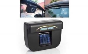 Ventilator solar pentru masina, la doar 39 RON in loc de 78 RON