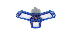 Bec LED Garage Light , clape flexibile pentru ajustarea luminii , 40W , lumina rece 6500K , 4000 lumeni