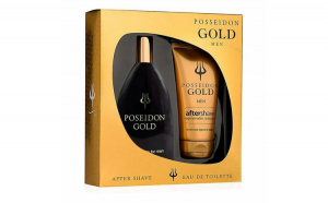 Set de Cosmetica Barbati Gold Posseidon (2 pcs)