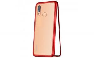 Husa 360 Magnetic Case pentru Huawei P20 Lite  Red