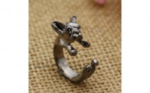 Inel fashion French Bulldog