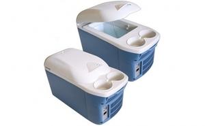 Mini frigider auto cu functie de racire si incalzire capacitate 8 litri, 12V, doar la 149 RON in loc de 299 RON