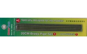 20CM Brass Pipe Set 1
