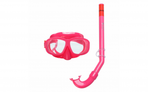 Set masca tub copii 3-6 ani roz