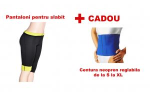Pantaloni + centura