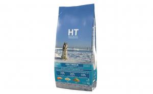 Hrana uscata pentru caini HT, medium adult, somon si orez, monoproteic, 12.5 Kg