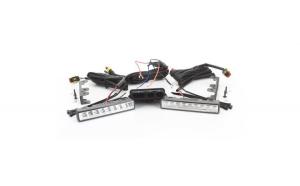 Proiectoare LED DRL tip lumini zi cu