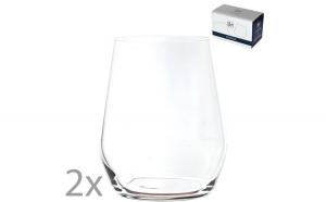 Set 2 pahare cristal apa, suc,