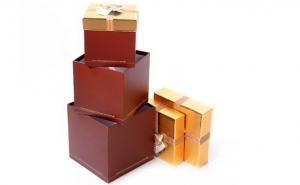Set 4 cutii de cadou, la 56 RON in loc de 140 RON