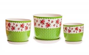 Set Ghiveci Ceramica, la 48 RON in loc de 120 RON