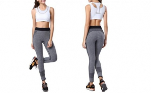 Pantaloni FITNESS de dama - ideal pentru sala, yoga, alergare, la 99 RON in loc de 215 RON