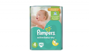 Pachet scutece Pampers Active Baby