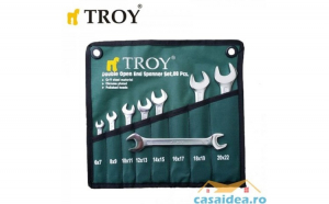 Set chei  fixe Cr V   8 buc (6 22mm) TROY