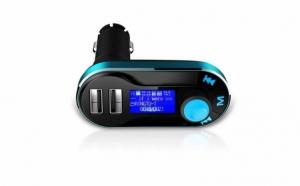 Modulator FM mp3 player cu incarcator pentru diverse dispozitive incorporat + Aspirator Auto