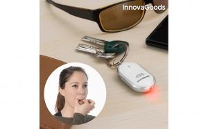 Breloc localizator de chei LED
