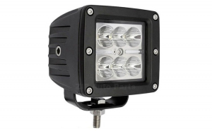 Proiector LED Offroad 18W/12V-24V Patrat 1320 Lumeni F.B.