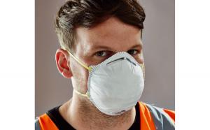 Masca de protectie turnanta FFP1, alb,
