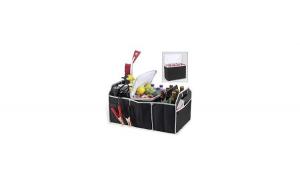 Organizator pentru portbagaj auto pliabil cu compartiment termoizolant