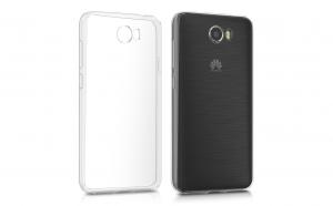 Husa slim silicon Huawei Y5 II,Transparentă